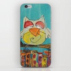 Urban Owl  iPhone & iPod Skin