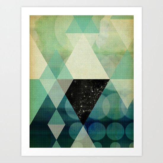 GEOMETRIC 003 Art Print