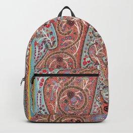 Rasht  Antique Persian Wall Hanging Backpack