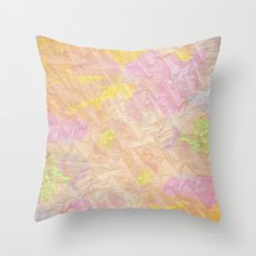 Abstract painting on a stone Throw Pillow