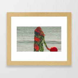 Double Exposure 2 Framed Art Print