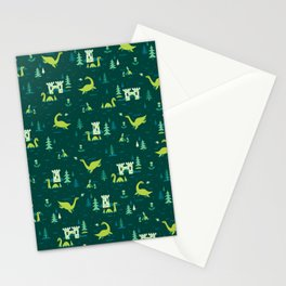 Cryptid Cuties: The Lochness Monster Stationery Cards