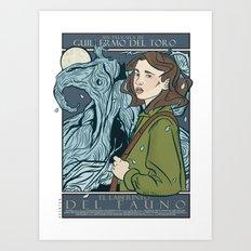 El Laberinto del Fauno (Pan's Labyrinth)  Art Print