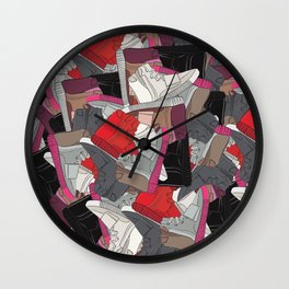 YZY x LV  Wall Clock