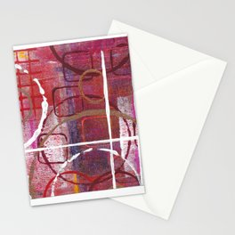 Lines, Circles And Squares, OH MY! 1 Bottom Square Stationery Cards