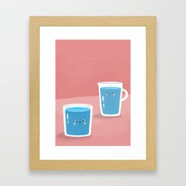 Hydrocute Framed Art Print