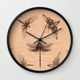 Dark Insect's Black Magic Wall Clock