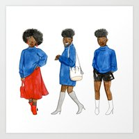 Sweater style Art Print