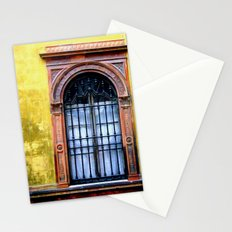 Yellow Window Stationery Cards