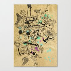 My Broken Dreams Canvas Print