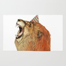 Birthday Lion Rug