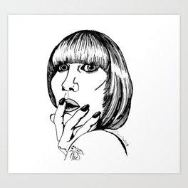 karen o Art Print