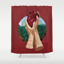 In Its Grip Shower Curtain