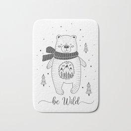 BE WILD! Bath Mat