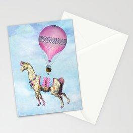 Flying Llama Stationery Cards