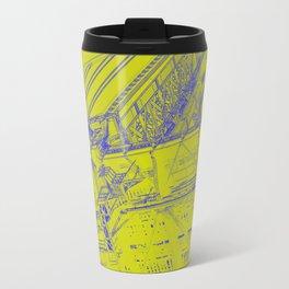 Manhattan Bridge - Green Travel Mug