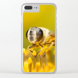 Pollen Feast Clear iPhone Case