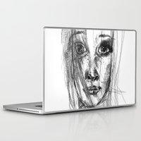 leah flores Laptop & iPad Skins featuring LEAH by EDEN