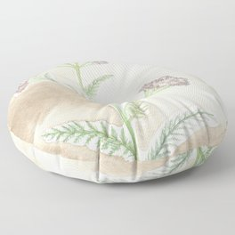 Pink Yarrow Floor Pillow