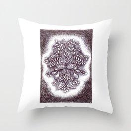 Imaginary Botany Throw Pillow