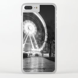 Budapest Eye. Clear iPhone Case