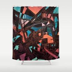 Mima Kojima Shower Curtain