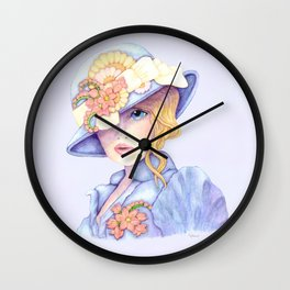 Ascot Girl Wall Clock