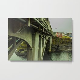 Puentes de Oregon Metal Print