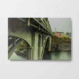Puentes de Oregon Metal Print