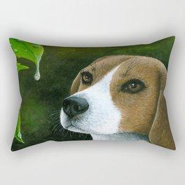 Beagle Dog Rectangular Pillow