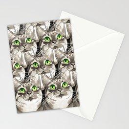 Mojo Kitten Stationery Cards