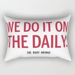 ON THE DAILY Rectangular Pillow