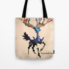 I Am Legendary X - Geometric Tote Bag