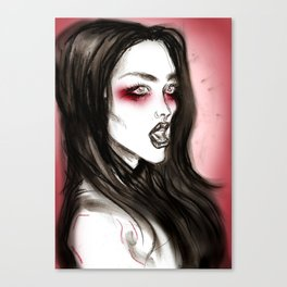 Little Queenie Canvas Print