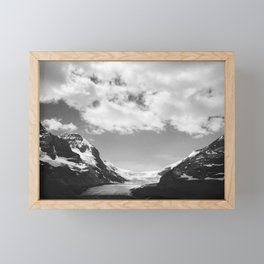 Columbia Icefield in Canada Framed Mini Art Print