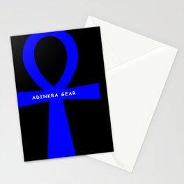Ankh Blue Stationery Cards