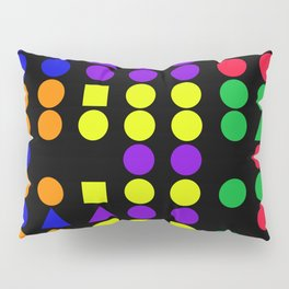 Shapes & Patterns Pillow Sham