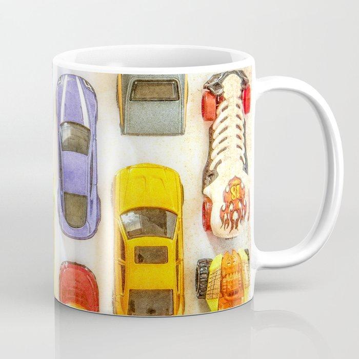 Vintage Toy Cars Coffee Mug By Wallartphotos Society6