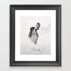 Saucer of Milk for You Framed Art Print
