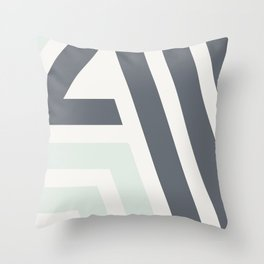 Bonjour III - Hello Continued Throw Pillow