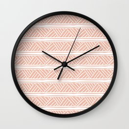 Millennial Mudcloth Wall Clock