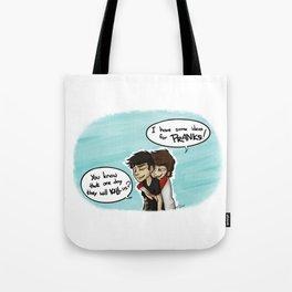 Zouis Pranks Tote Bag