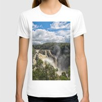 geology T-shirts featuring Beautiful Barron Falls by Wendy Townrow