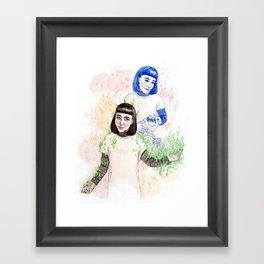 Nurture Yourself  Framed Art Print
