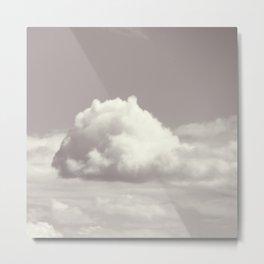 Funny  Cloud Metal Print