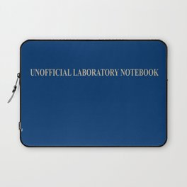 Unofficial Laboratory Notebook Laptop Sleeve