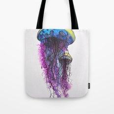 Sketchy Jellyfish Tote Bag