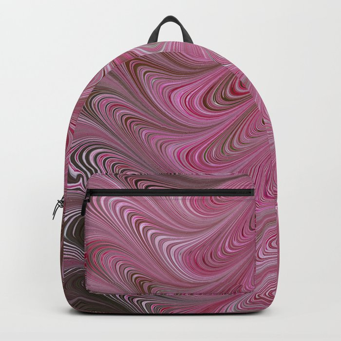 Pink Chocolate Swirl Backpack