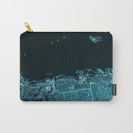18-San Francisco North map, California 1947 Carry-All Pouch