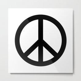 Peace Symbol Metal Print